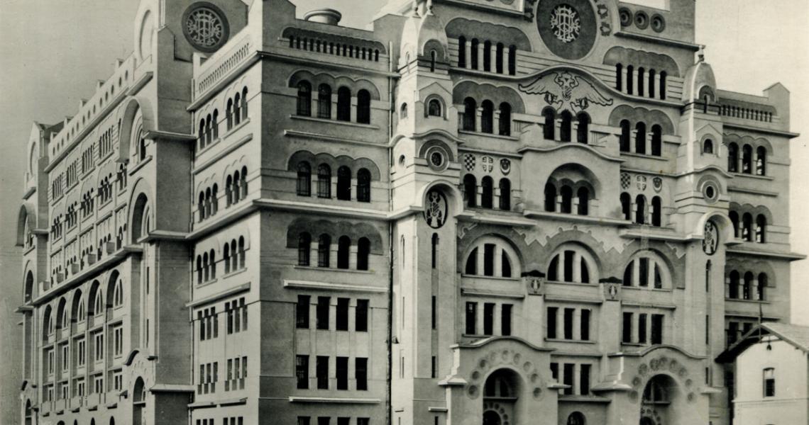 #RetroSerbia Gaudi w Belgradzie. Historia starej poczty na Savskiej